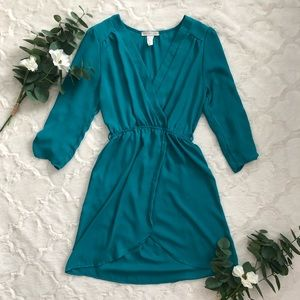 Tops - Teal Tulip Tunic